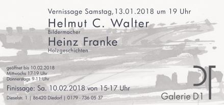 Hemut C. Walter und Heinz Franke